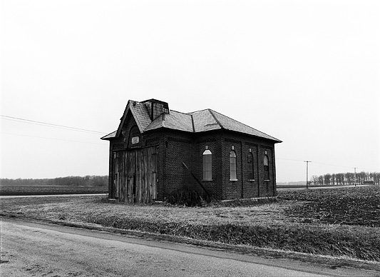 One Room Brick Schoolhouse In Southeast Allen County