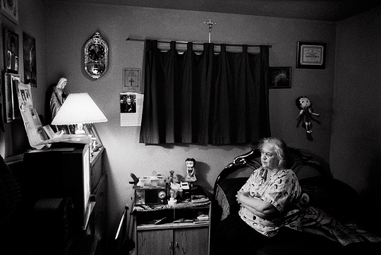 Old Woman Watching Tv Photograph By Christopher Crawford