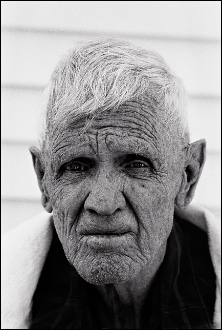 Charles Crawford at age 82 when he was suffering from Alzheimer's Disease.