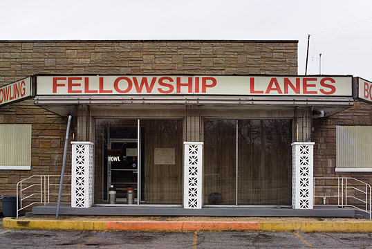 Fellowship Lanes Christian bowling alley in Shively, Kentucky.