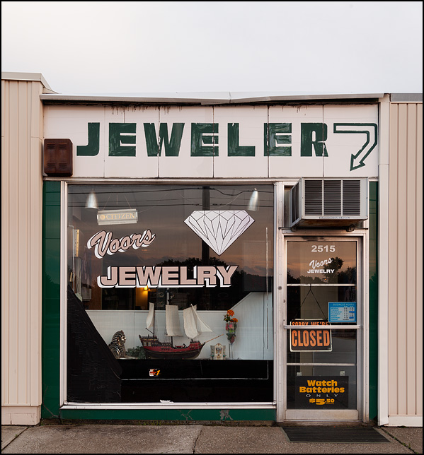 Voors Jewelry store, a small family-owned jeweler in the Waynedale area of Fort Wayne, Indiana.