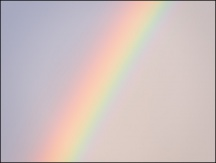 October Evening Rainbow #1
