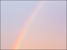October Evening Rainbow #2