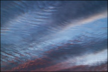Abstract Sky Over Yohne Road 11-24-17 #1