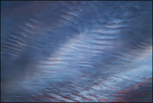 Abstract Sky Over Yohne Road 11-24-17 #3