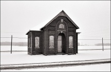 Schoolhouse at Besancon, Indiana #11