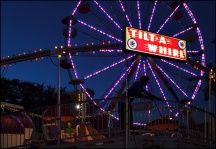 Tilt-A-Whirl at the Three Rivers Festival #1