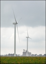 Wind Turbines In Paulding County, Ohio #1