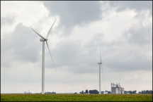 Wind Turbines In Paulding County, Ohio #2