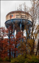 Fort Wayne's All-America City Water Tower