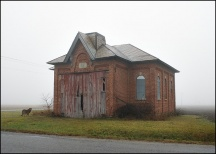 Schoolhouse on Barkley Road #4