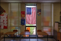 Middle School Foreign-Language Classroom