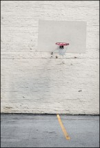 Basketball Behind Warren Church of Christ