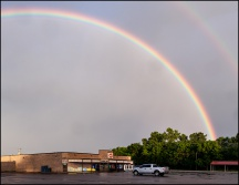 Rainbow Over Churubusco #2