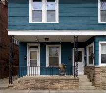 Blue House on Delaware Avenue