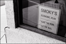 Smoky Montgomery's Economic Plan