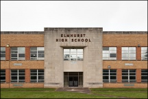 New Facade of Elmhurst High