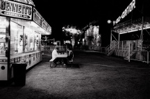 Alone at the Carnival