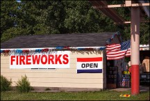 Fireworks Garage in Waynedale