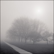 Fort Wayne Foggy April Sunrise #5