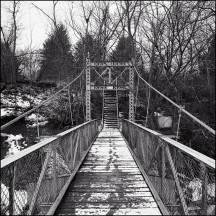 Foster Park Suspension Bridge #2