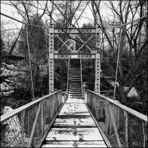 Foster Park Suspension Bridge #3