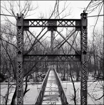 Foster Park Suspension Bridge #5