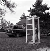 Front Yard Phone Booth