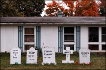 Halloween Graves in Belle vista