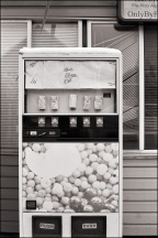 Abandoned Drink Machine