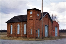 Abandoned Church on Hoagland Road #2