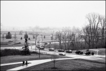 Foggy Day at IPFW