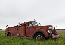 International KB-7 Fire Truck #1
