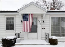 Patriotic House on Lafayette Street
