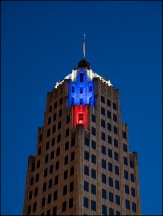 Lincoln Tower On The Fourth Of July