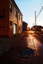 Brick Alley In Louisville