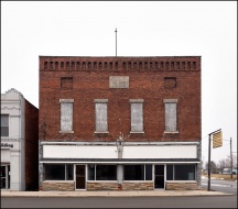 Odd Fellows Building in Middle Point
