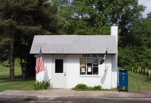 Post office in Ora, Indiana