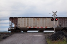 Railroad Crossing on Sampson Road #2