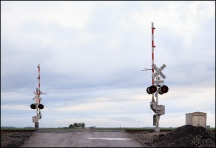 Railroad Crossing on Sampson Road #1
