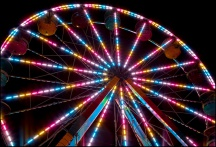 Ferris Wheel In Motion #5