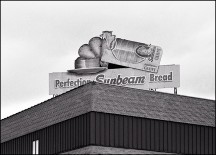 Sunbeam Bread Sign #1