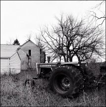 Abandoned Farm On Thiele Road #2