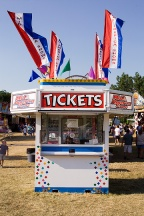 Three Rivers Festival Ticket Booth