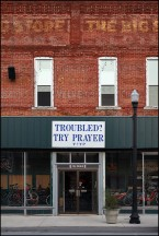 Troubled? Try Prayer