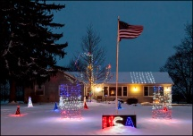 USA Christmas Lights