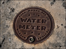 Ford Water Meter Box