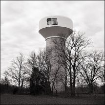 Patriotic Water Tower