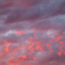 Abstract Sky Photographs by Christopher Crawford.
