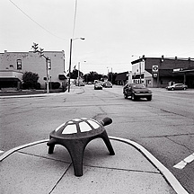 Photographs of the small town of Churubusco Indiana.